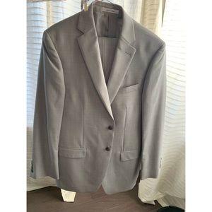 Calvin Klein Suit Set (jacket and pants) grey.